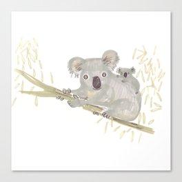Koala & baby Canvas Print