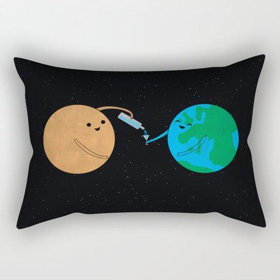 Good Guy Mars Rectangular Pillow