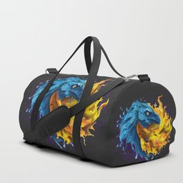 Eagles Elemental Yin Yang Duffle Bag