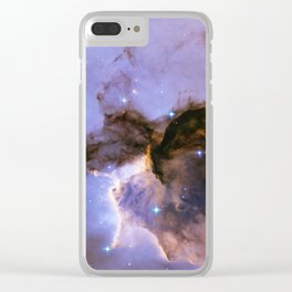 The Fairy of Eagle Nebula Clear iPhone Case