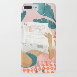Morning News iPhone Case