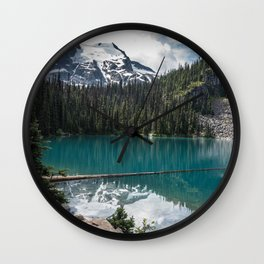 Joffre Lakes, Pemberton BC, Canada Wall Clock