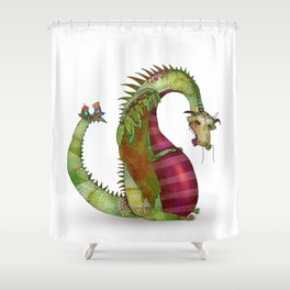 """Ignore the """"behind your back talkers"""" Shower Curtain"""