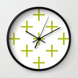 Plus Wall Clock