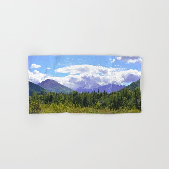 The Mountains Are Calling . . . II Hand & Bath Towel