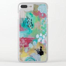 Wipe away Clear iPhone Case