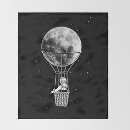 Night Flight Throw Blanket