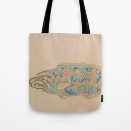 Colorful Fish Tote Bag