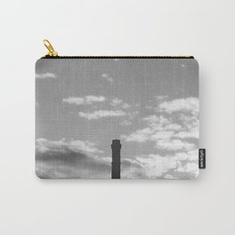 Black And White Chimney Carry-All Pouch