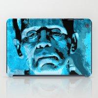 frankenstein iPad Cases featuring Frankenstein by Pedro Nogueira