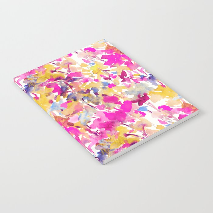 Local Color Yellow Pink Notebook