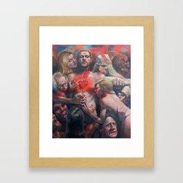 Orgía Caníval Framed Art Print
