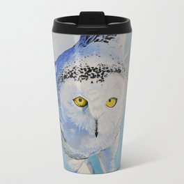 Snow Owl Travel Mug