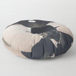 Leonard Cohen hats Floor Pillow
