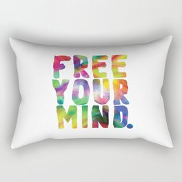 Free Your Mind. Rectangular Pillow