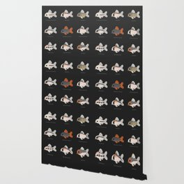 Corydoras! - black Wallpaper