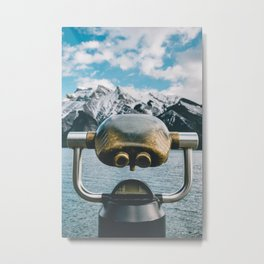 Lake Minnewanka III Metal Print