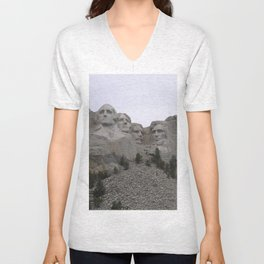 Mount Rushmore National Park Unisex V-Neck
