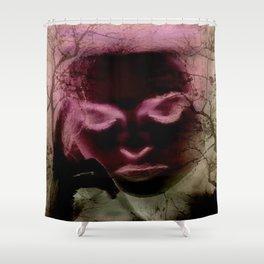 OverThink Shower Curtain