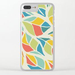 Colors of the wind fall leaves Clear iPhone Case