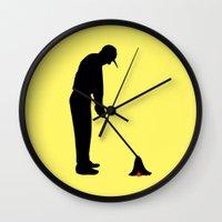 golf Wall Clocks featuring GOLF by INNOCENT DESIGNER