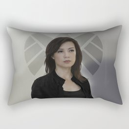 Agent May Rectangular Pillow