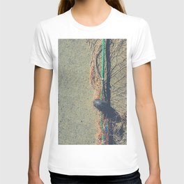Fishnet with buoy on rope T-shirt