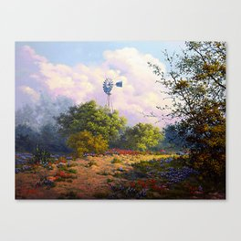 Evening at the Ranch Canvas Print