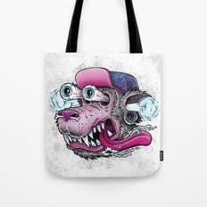 Wolf Dude Tote Bag