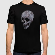 New Skin MEDIUM Black Mens Fitted Tee