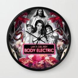 Body Electric II Wall Clock
