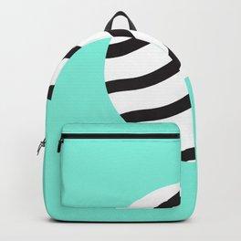 Zebra circle Backpack