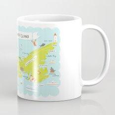 map of PEI Mug