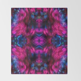 Eye Kaleidoscope Candy Throw Blanket