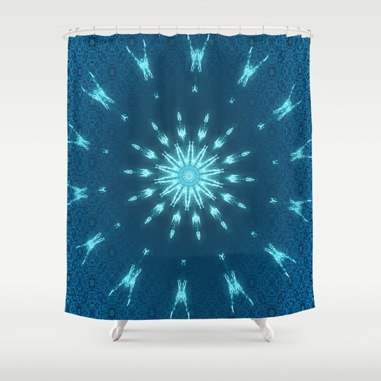 Boho Chic IX Shower Curtain By Indigorayz