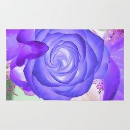 Violeta Florecer Rug
