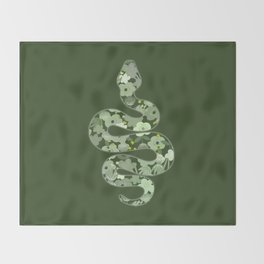 Slytherin House Throw Blanket