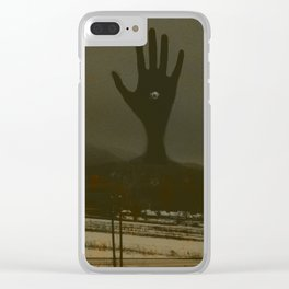 Always Been Here Clear iPhone Case