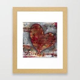 Permission Series: Lovely Framed Art Print