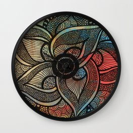 Colore Doodle Wall Clock