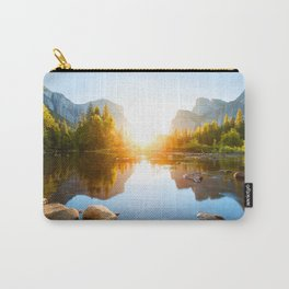 Middle of Nature Carry-All Pouch