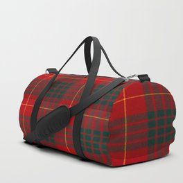 CAMERON CLAN SCOTTISH KILT TARTAN DESIGN Duffle Bag