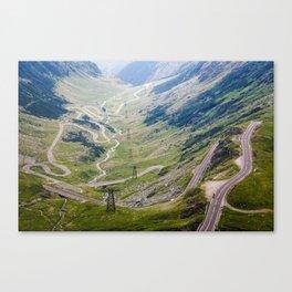 Transfagarasan Road Canvas Print