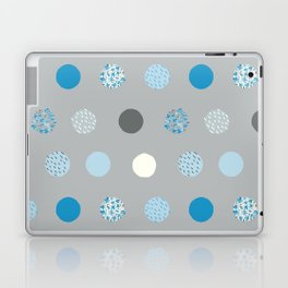 floral dots Laptop & iPad Skin