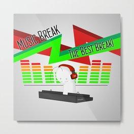 DJ! CRYAOTIC Metal Print
