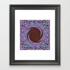 In The Pink Colorfoil Bandanna Twirl Framed Art Print
