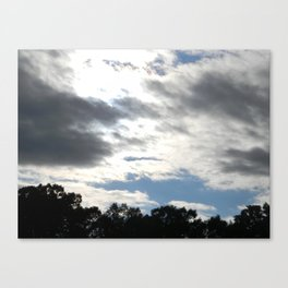 BlueSky. Canvas Print