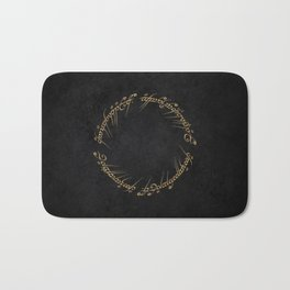The Ring that Binds them All Bath Mat