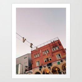 Venice Golden Hour Art Print