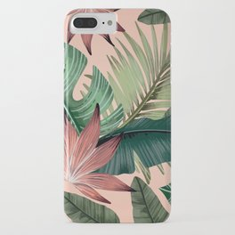 Tropical Monstera Swiss Cheese Plant iPhone Case